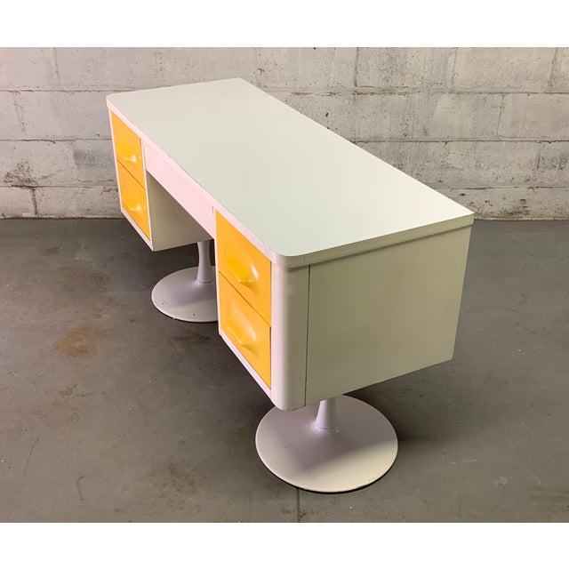 Rare Mid Century Modern Broyhill Premier Chapter One Desk For Sale - Image 9 of 11