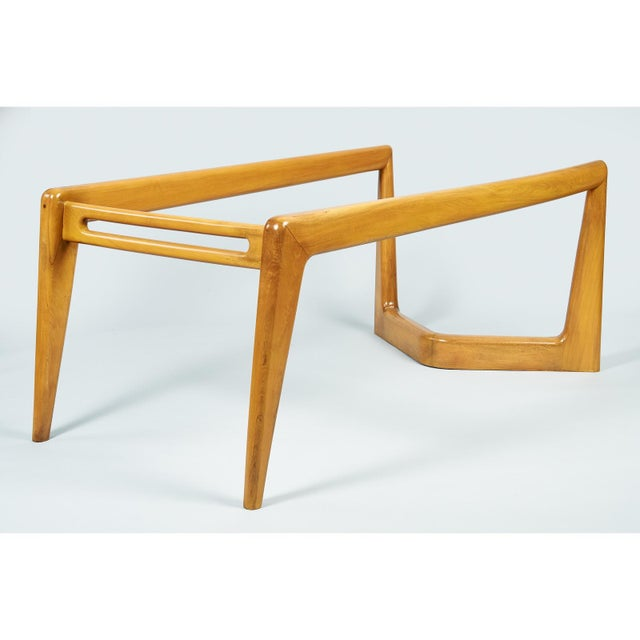 Brown 1950s Mid-Century Modern Pierluigi Giordani Biomorphic Dining Table For Sale - Image 8 of 13