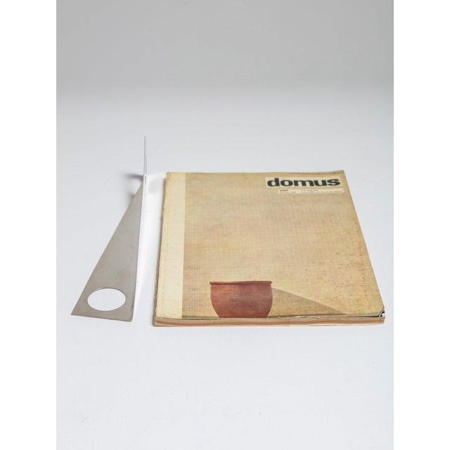Lino Sabattini Table Crumb Remover by Lino Sabattini for Sabattini Argenterie For Sale - Image 4 of 5