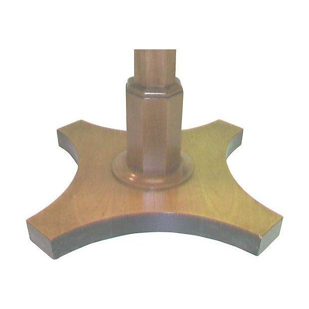 Baker Single Pedestal End Table - Image 3 of 4