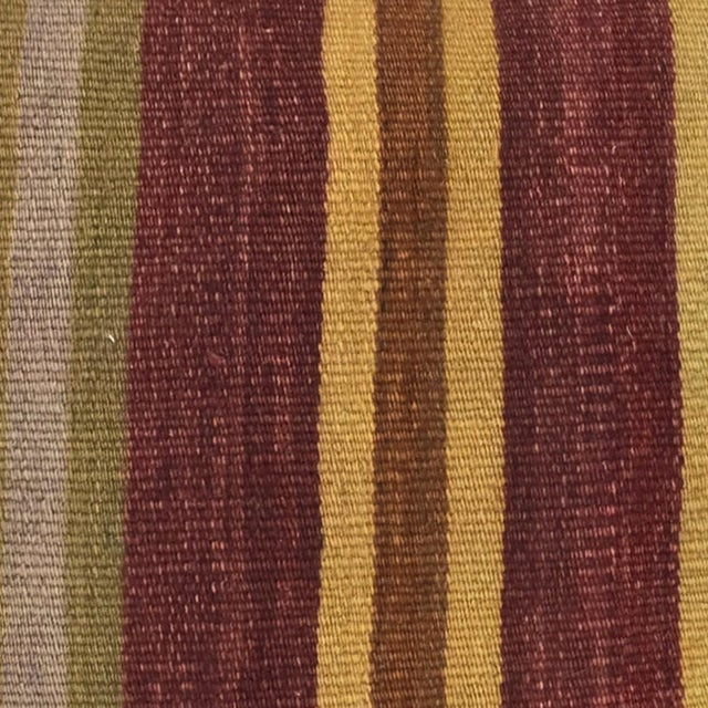 "Vintage Kilim Pillow | 24"" - Image 2 of 2"