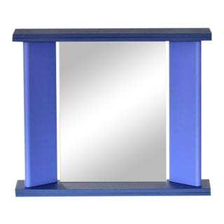 """You Again"" Blue Marco Zanini for Marutomi Mirror For Sale"