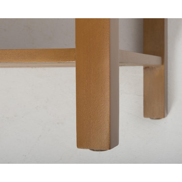 T.H. Robsjohn Gibbings Widdicomb Parsons End Tables - a Pair 1949 For Sale - Image 11 of 13