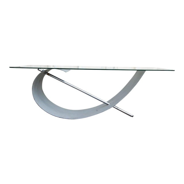 1970s Modern Abstract Sculptural Coffee Table For Sale