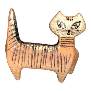 Vintage Mid-Century Lisa Larson Gustavsberg Cat Figurine For Sale