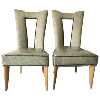 Paul Laszlo Pull-Up Chairs For Sale