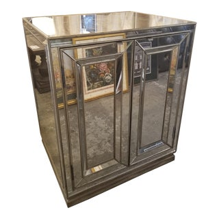 Hooker Antiqued Mirror Cabinet