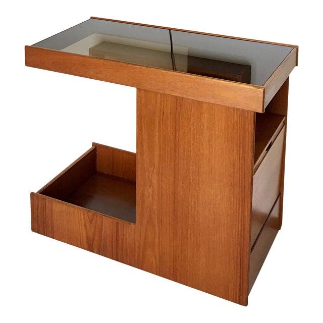 Pedersen & Hansen Danish Modern Bar Cart - Image 1 of 11