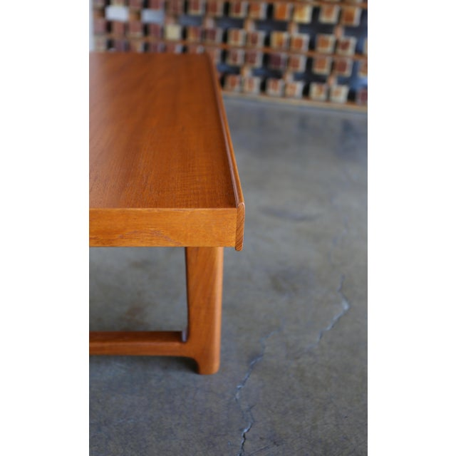 "Torbjørn Afdal for Bruksbo Teak ""Krobo"" Bench For Sale In Los Angeles - Image 6 of 10"