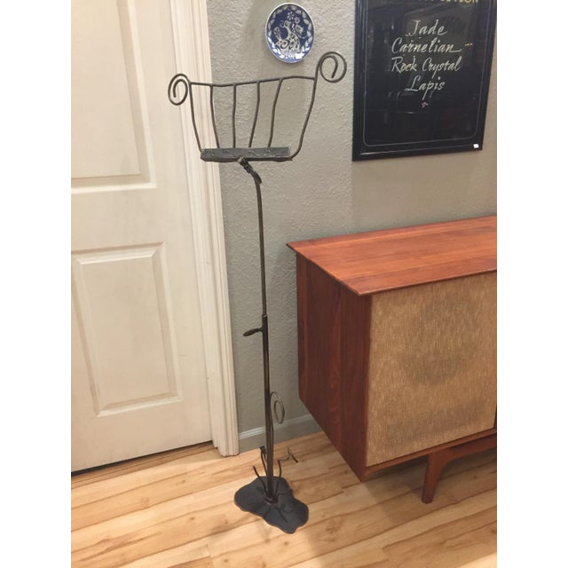 Artisan-Crafted Whimsical Music Stand - Image 2 of 8