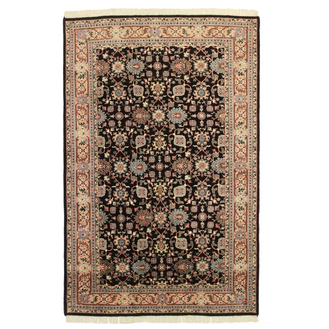 "RugsinDallas Hand Knotted Wool Rug - 5'6"" X 8'6"" For Sale"