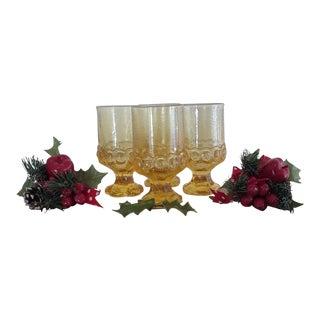 Vintage Tiffin Franciscan Madeira Glassware - Set of 16 For Sale