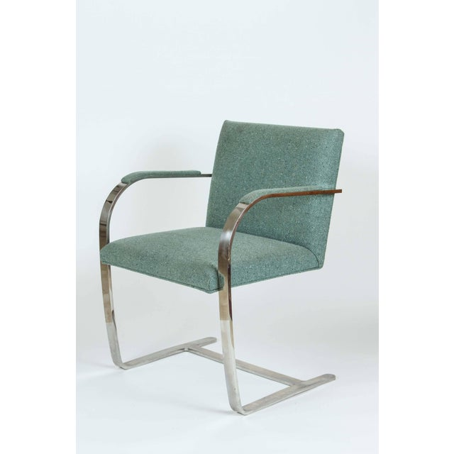 Vintage Mid Century Mies Van Der Rohe Brno for Knoll Chair- a Pair For Sale - Image 9 of 10