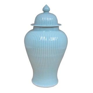 Sarreid LTD Ceramic Bamboo Temple Jar