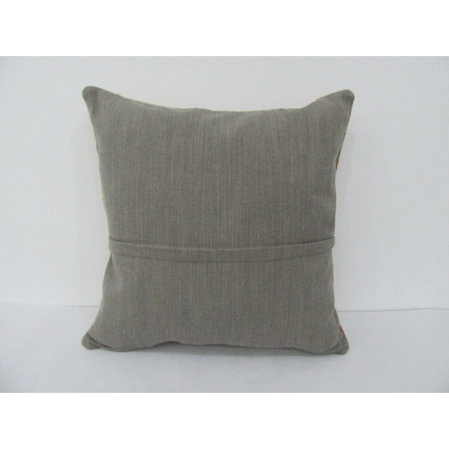 Turkish Vintage Turkish Decorative Handmade Pillow Cover For Sale - Image 3 of 4