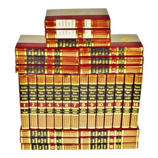 Vintage 1970's Funk & Wagnalls New Encyclopedias - Set of 29 For Sale