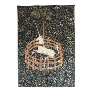 1970s Vintage Jp Paris Panneaux Gobelins Tapestry For Sale