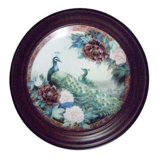 Van Hygan & Smythe Wood Frame With Lily Chang Plate