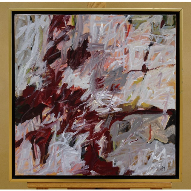 "Laurie MacMillan ""Nest"" Abstract Painting For Sale In Los Angeles - Image 6 of 6"