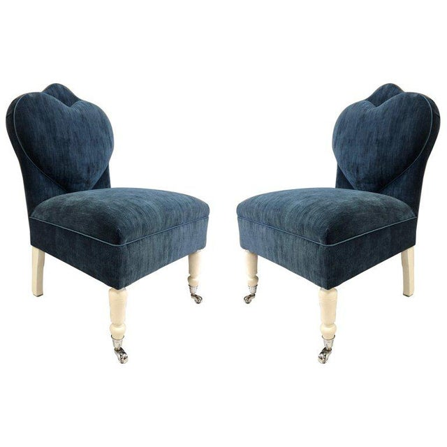 Pair of Flavor Custom Design Lounge Chairs For Sale - Image 11 of 12