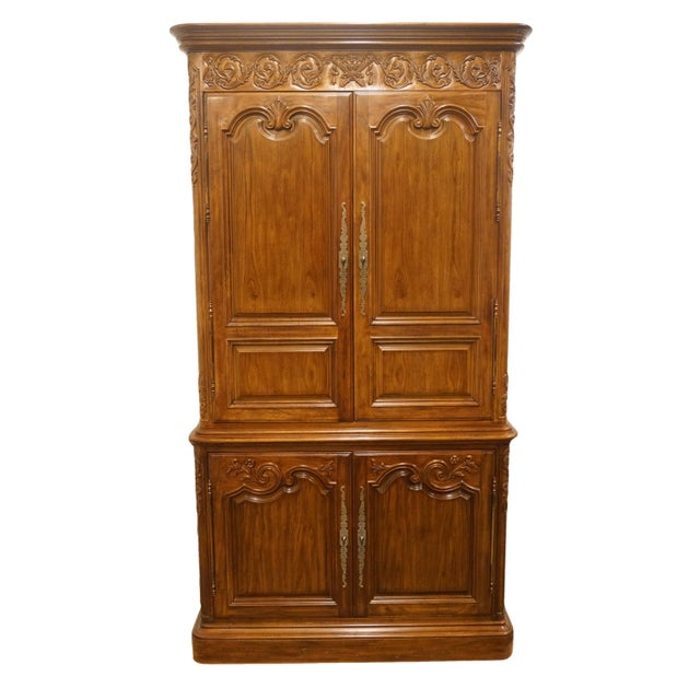 Heritage Avallon Collection Country French Media Armoire For Sale - Image 13 of 13