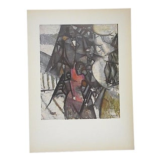 Vintage Mid 20th C. Post-Impressionist Lithograph-Fernand Leger-Folio Size For Sale