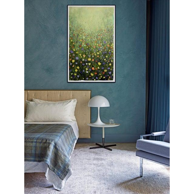 """Flowerfield Three"" Painting - Image 6 of 8"