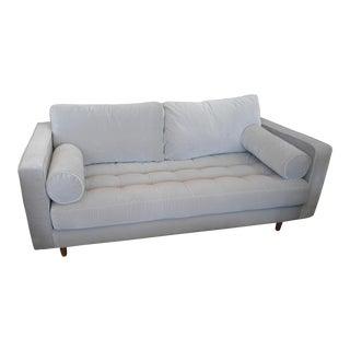 Short Intuition Light Gray Sofa