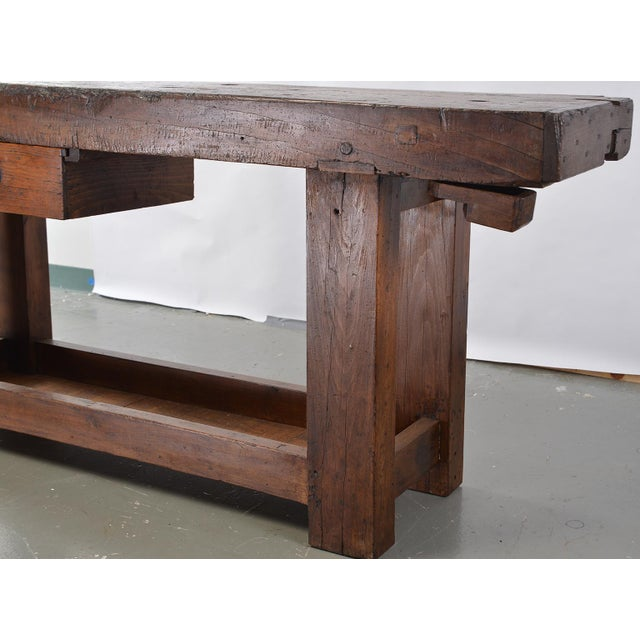 Wood French 19th Century Work Bench For Sale - Image 7 of 13