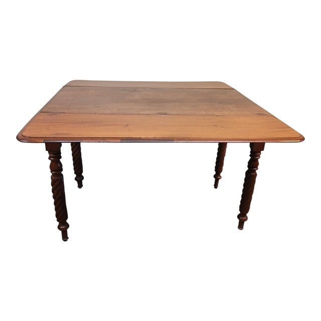 Vintage Drop Leaf Table For Sale