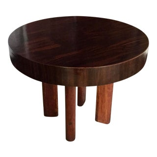20th Century Art Deco Rosewood Center Table For Sale