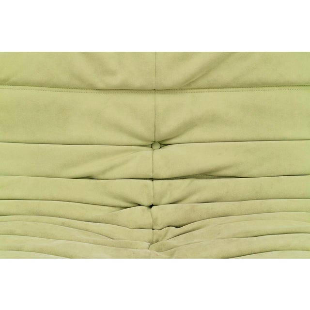 Green Pair of Michel Duraroy Togo Sofas For Sale - Image 8 of 9