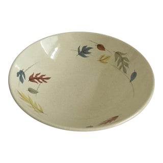 1950s Franciscan Autumn Collection Serving Bowl For Sale