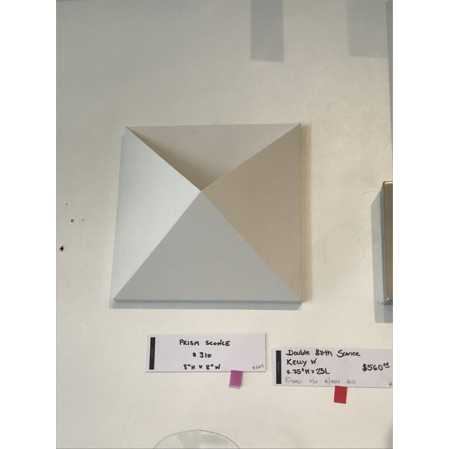 Modern Sonneman Outdoor White Prism Sconce For Sale - Image 3 of 5