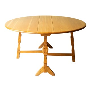 Custom A. Brandt Drop Leaf Dining Table/Console C.1940-1950 For Sale