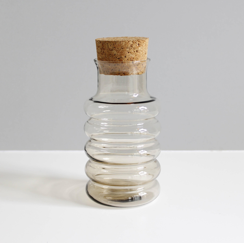 Holmegaard Primula Glass Jar or Canister Jacob Bang Danish Modern