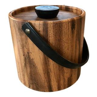 Moldtronic Faux Wood Grain Ice Bucket