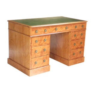 Mid 19th Century Satinwood Desk For Sale