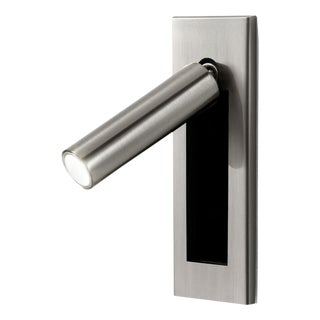 Brushed Nickel Led Wall Light With Docking For Sale