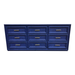 High Gloss Chinoiserie Painted Dresser For Sale