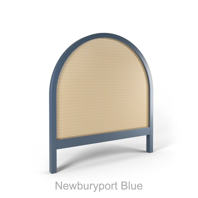 Contemporary Eva Headboard - Twin - Newburyport Blue For Sale - Image 3 of 3