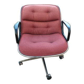 1980s Vintage Charles Pollock for Knoll Executive Chair For Sale
