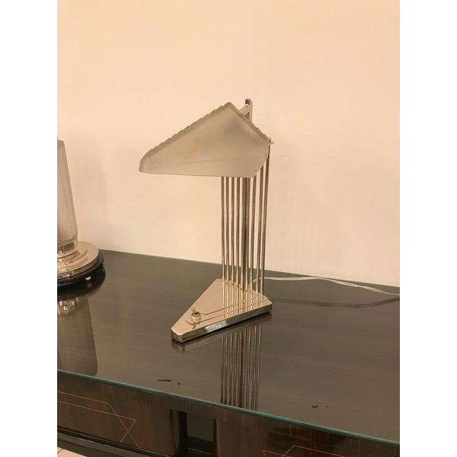 Art Deco French Art Deco Desk Lamp Signed by Gênet Et Michon For Sale - Image 3 of 13
