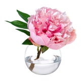 Image of Diane James Faux Pink Peony Blossom For Sale