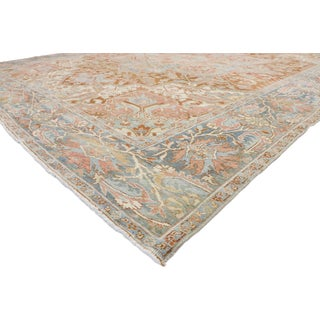 Antique Persian Heriz Style Rug - 9′4″ × 11′11″ Preview
