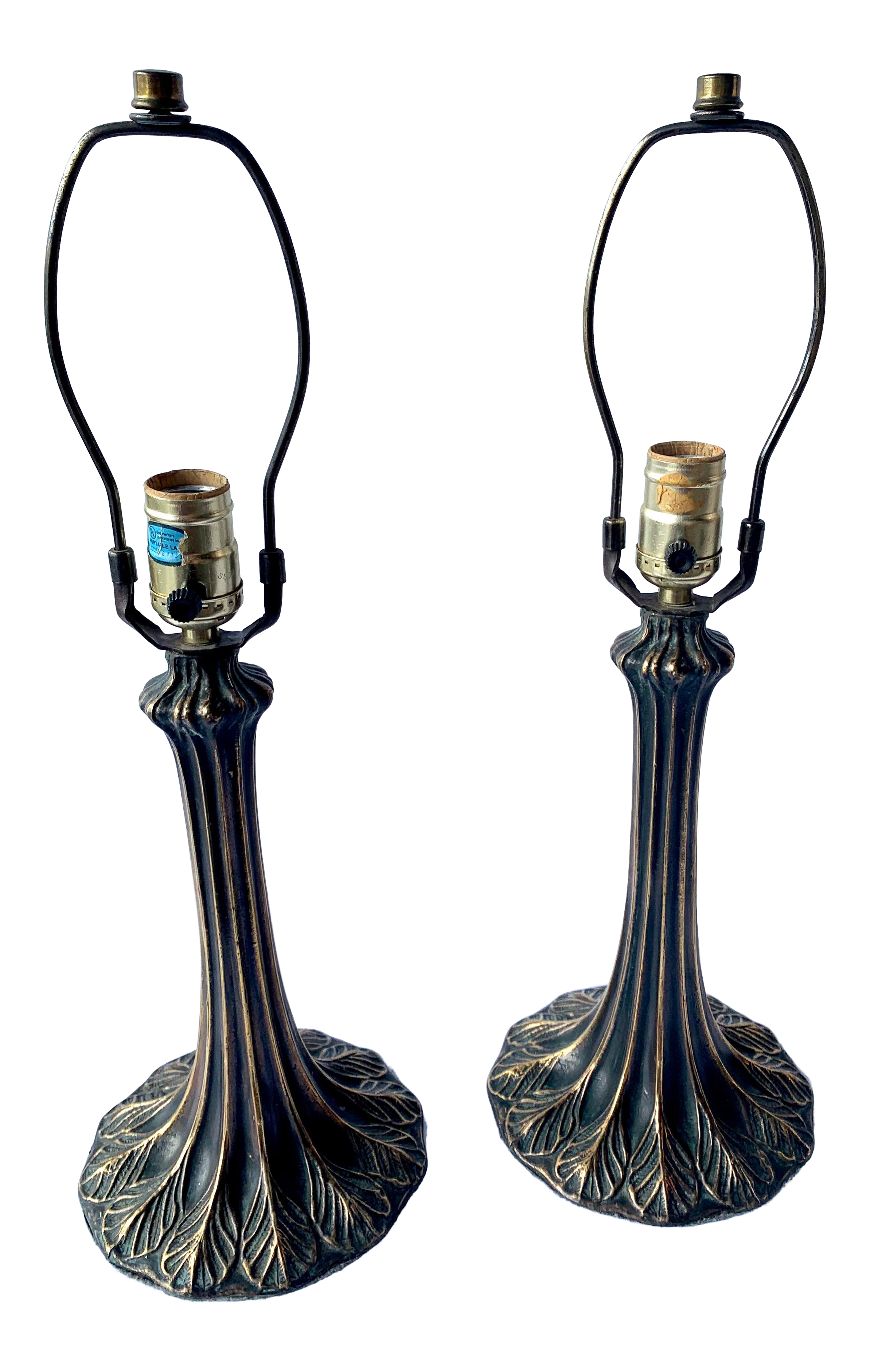 Image of: Vintage Used Tiffany Table Lamps For Sale Chairish