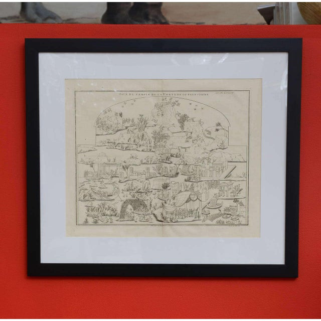 French Plate of the Temple of Fortune Primigenia For Sale - Image 3 of 11
