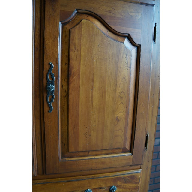 2000s French Provincial Ethan Allen Maison Door Chest For Sale - Image 5 of 6