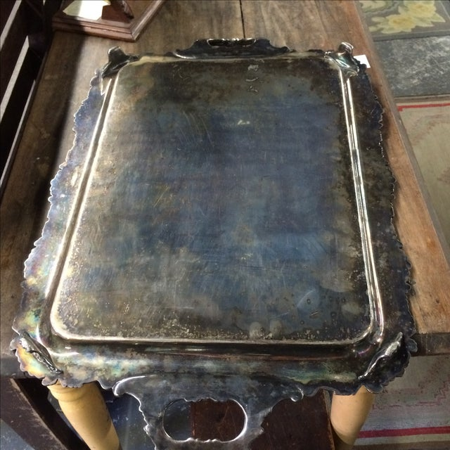 Silver Plate Tray - Image 5 of 7