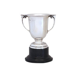 English Sterling Blank Trophy - Dated 1928 For Sale